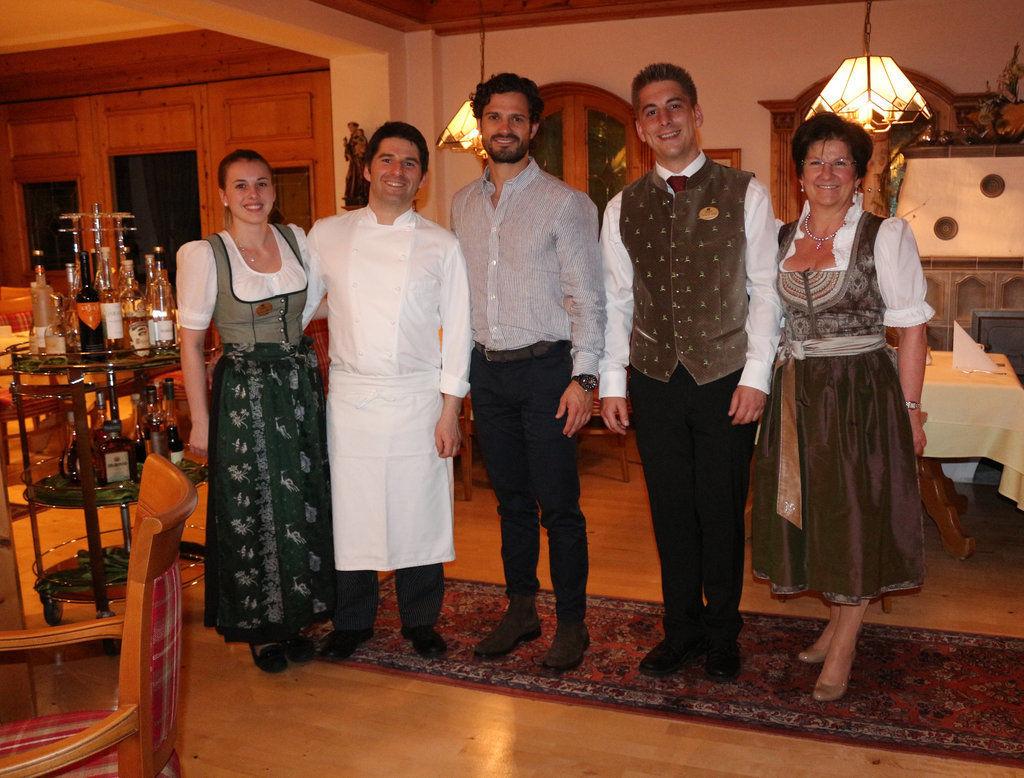 Prinz Carl Philip Von Schweden Zu Besuch