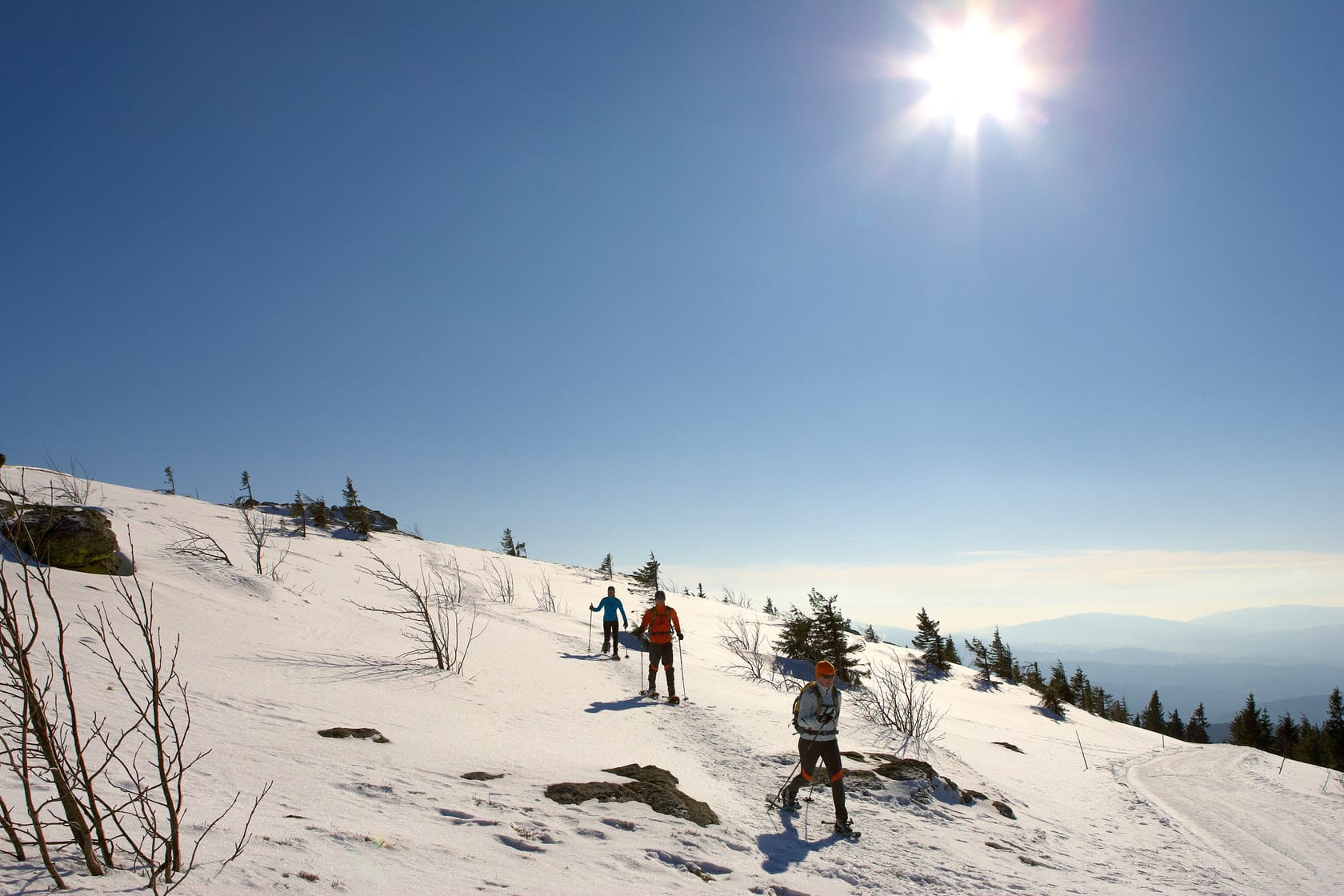 Schneeschuhtouren Bodenmais Winterurlaub Bayerischer Wald