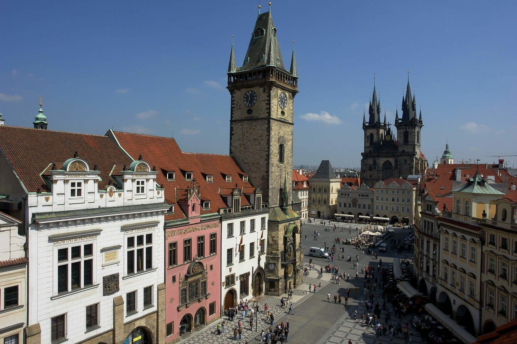 Place De La Vieille Ville A Prague